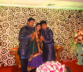 actor asif ali's engagement