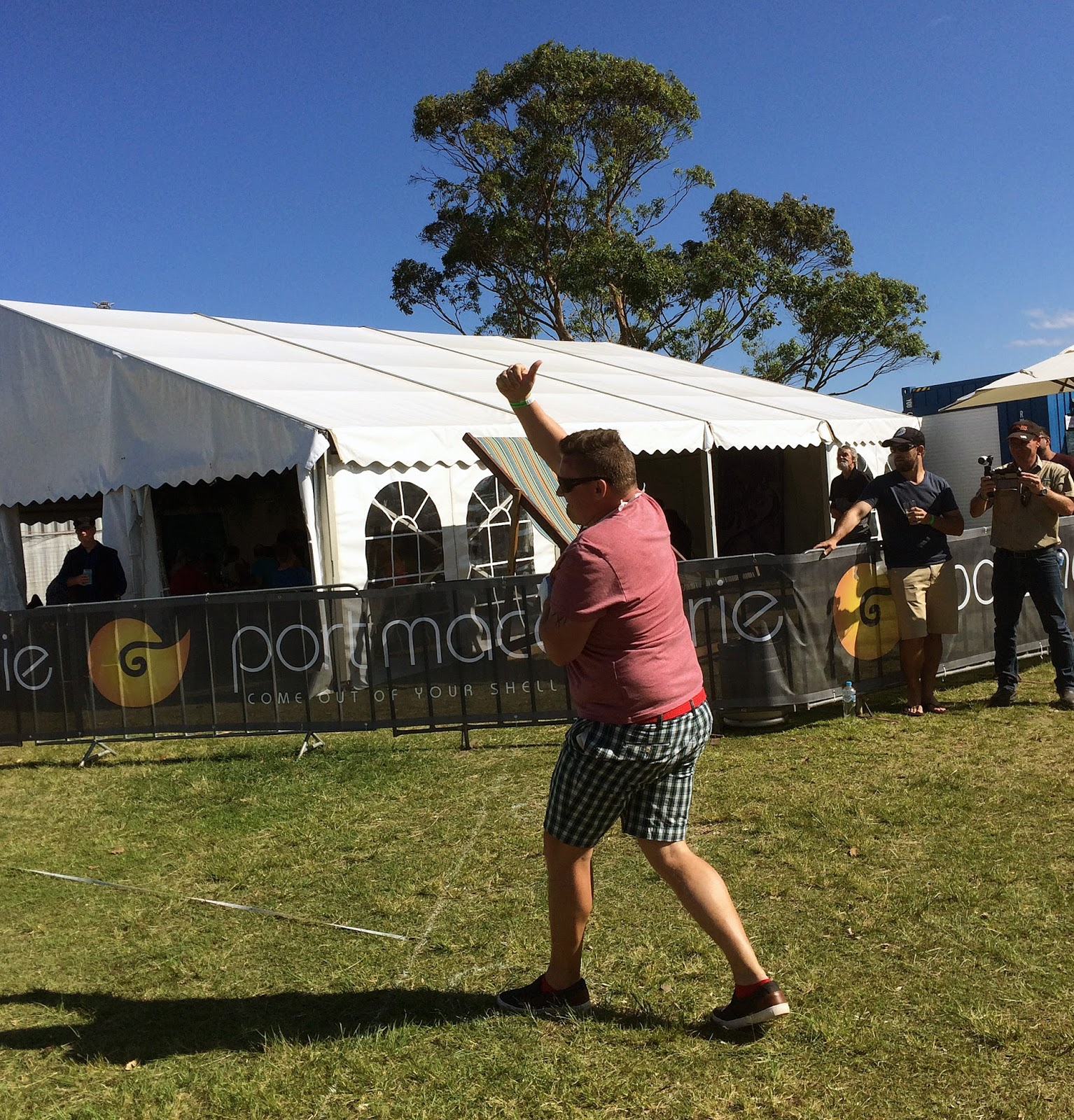 Port Macquarie Beer and Cider Festival Keg Toss