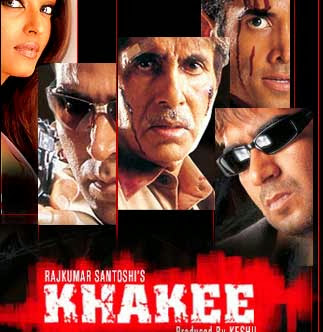 Poster Of Bollywood Movie Khakee (2004) 300MB Compressed Small Size Pc Movie Free Download worldfree4u.com