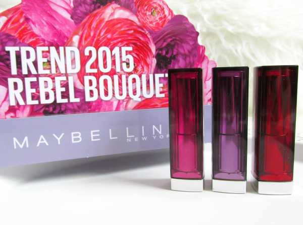 MAYBELLINE Color Sensational - Rebel Bouquet / Rebel Bloom Lipsticks - Review, Swatches, Photos