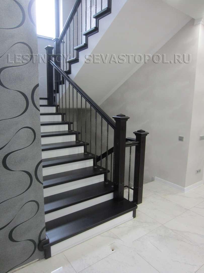 Лестницы металлические деревянные