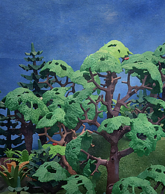 Playmobil custom forest
