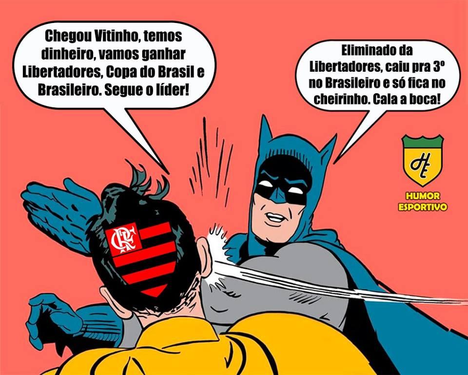 Confira MEMES da eliminação do Flamengo na Libertadores ...