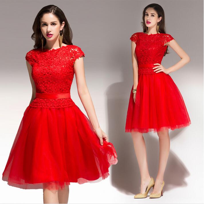 Joyas para vestido rojo de fiesta