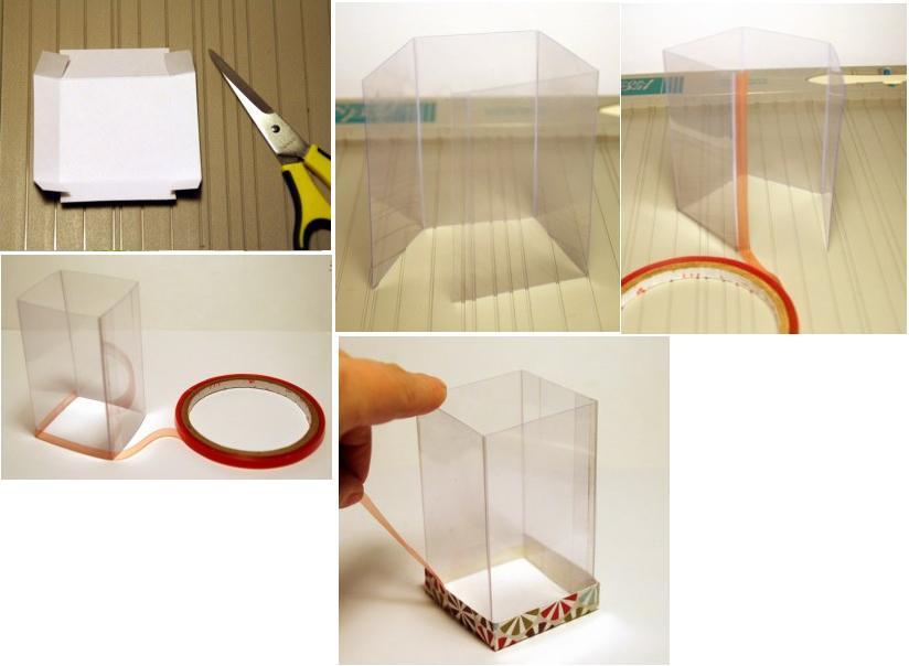 Caja Plastico Decorativa