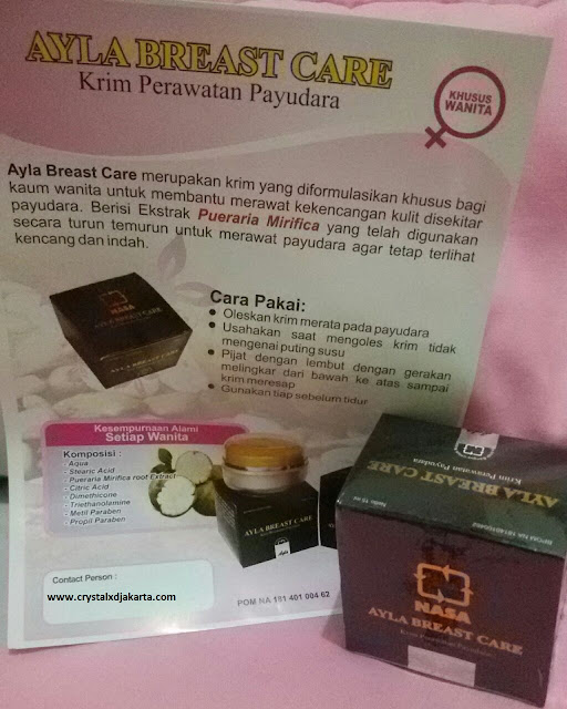 Ayla Breast Care Nasa, jual ayla breast care nasa, agen Ayla Breast Care Nasa, distributor Ayla Breast Care Nasa, jual pembesar payudara, jual pengencang payudara, cara memperbesar payudara