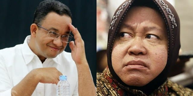 Risma Bukan Level Lawan Anies, Not Apple to Apple