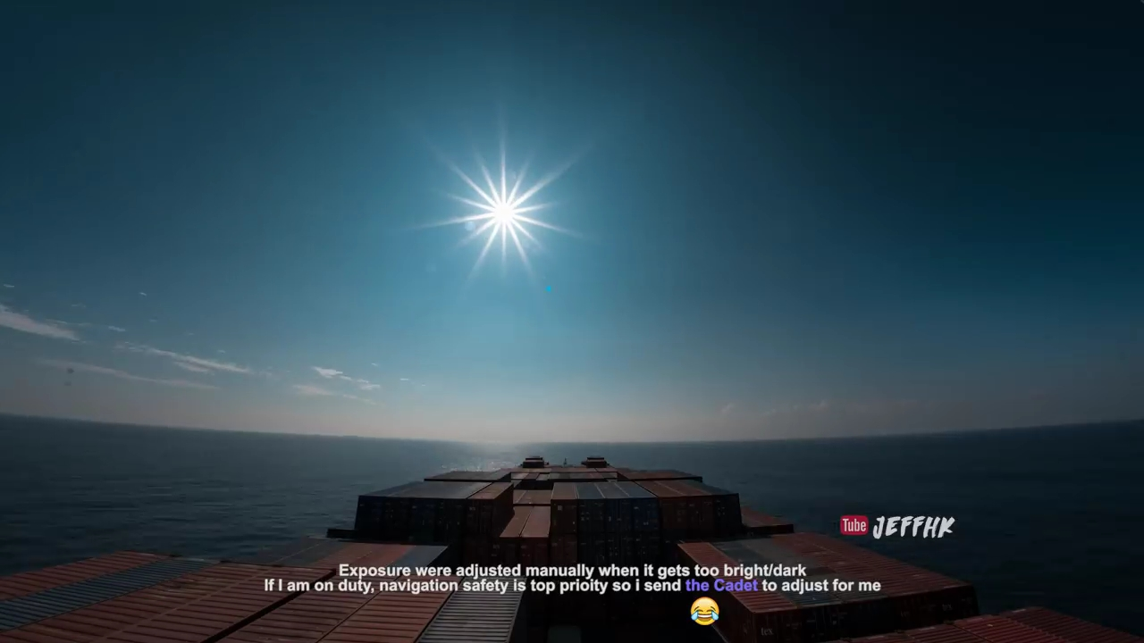 Timelapse Perjalanan Laut selama 30 Hari yang Luar Biasa