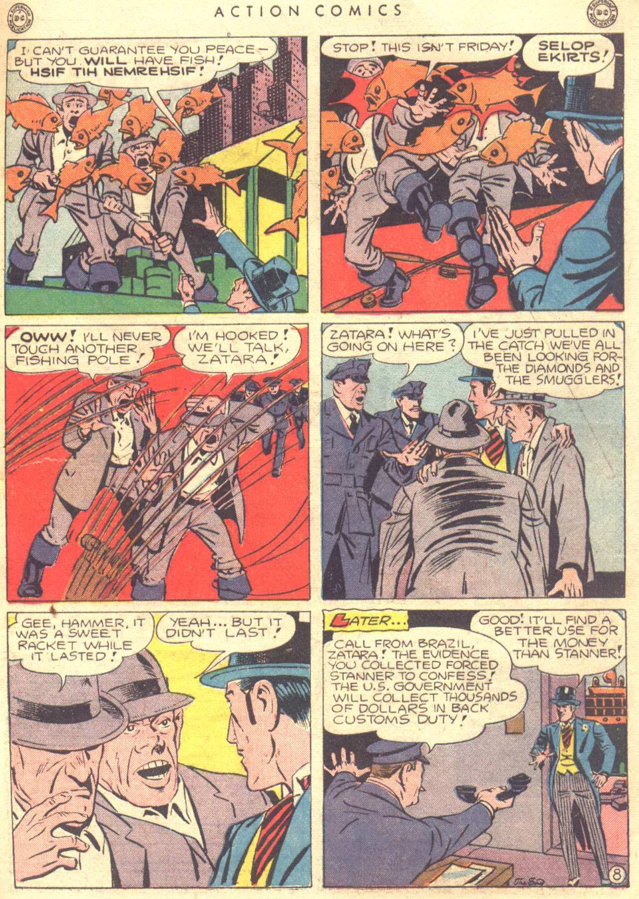 Read online Action Comics (1938) comic -  Issue #81 - 49