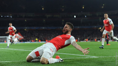 Determined Arsenal Beat Bayern  2-0 in Champions League