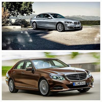 Mercedes E180 vs BMW 520i 1.6-lt
