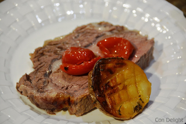 potato and entrecote