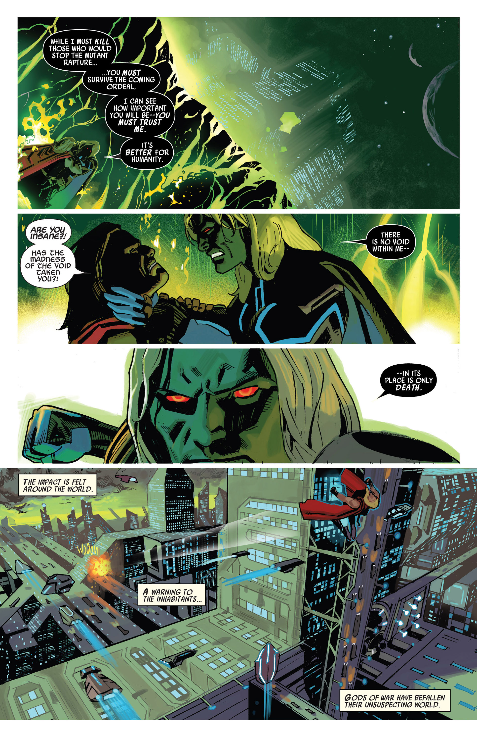 Read online Uncanny Avengers (2012) comic -  Issue #10 - 19