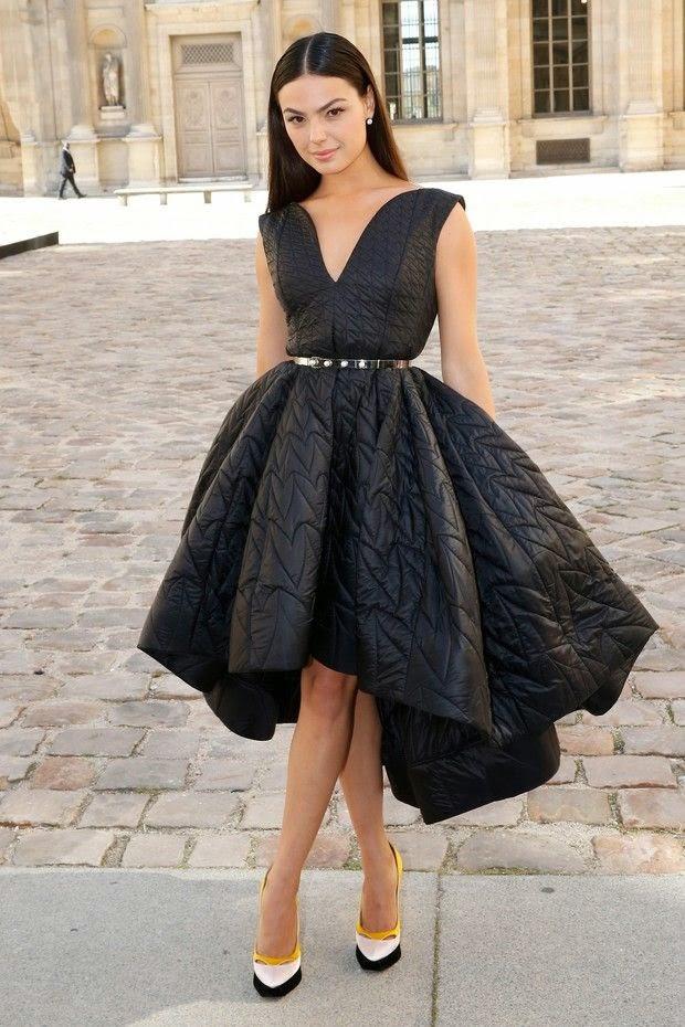 Isis Valverde desfile Dior em Paris