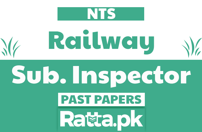 NTS Sub. Inspector Railway Police Past Papers solved pdf
