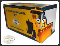 Boxed Bob the Builder's Scoop paper model