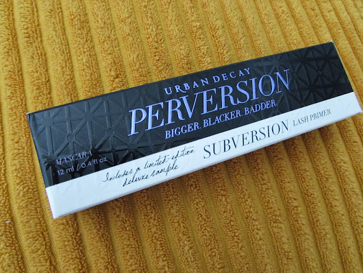 Urban Decay Perversion & Subversion Duo // Review.
