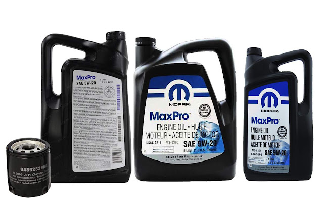 Mopar-SAE-SW-20-and-SAE-SW-30-and-filter-oil