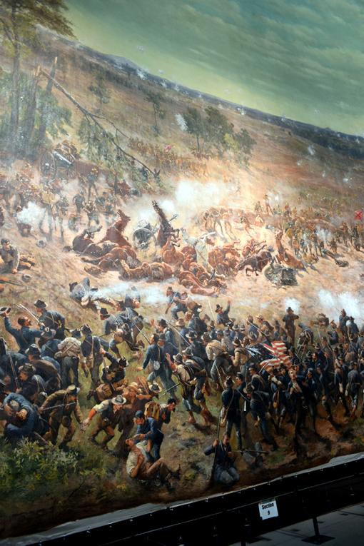 Battle of Atlanta Cyclorama | Atlanta History Center | Photo: Travis. S Taylor