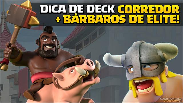Deck com Corredor, Bárbaros de Elite e Gelo - 1