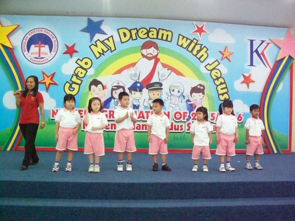 Perayaan Hut RI ke 71 Kelas K1 TK Kristen Kalam Kudus