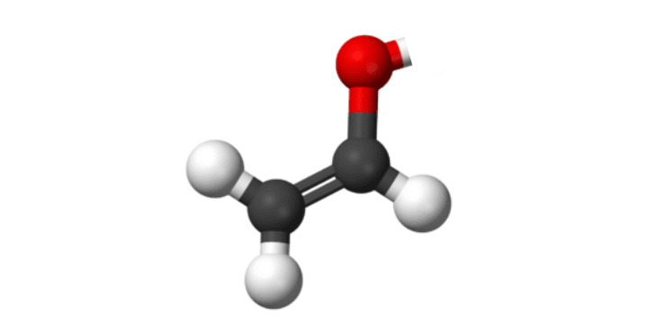 3D Structure of the Polyvinyl Alcohol