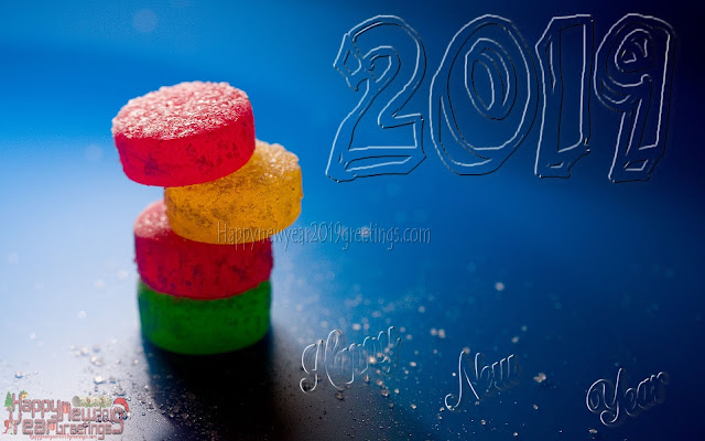 New Year 2019 3D Photo Greetings Download