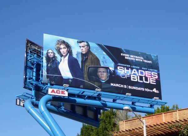 Shades of Blue season 2 billboard