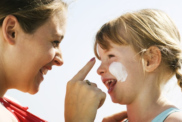 #Health:Sun damage puts children and teens at risk for deadly melanoma ! (Basic of Sun Safety)