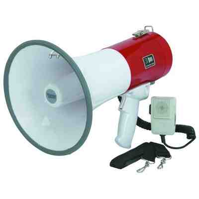 Megaphone: Public Address System With Recorder