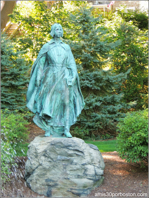 The Pilgrim Maiden en Plymouth