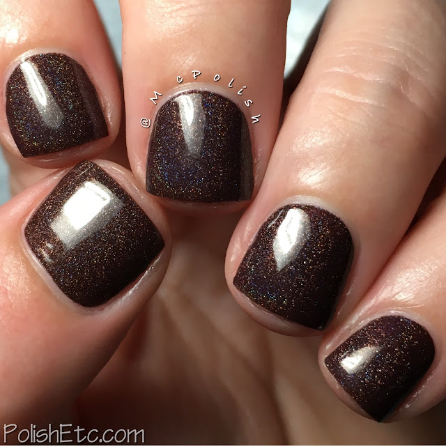 KBShimmer - Fall 2016 Collection - McPolish - Oh My Ganache!