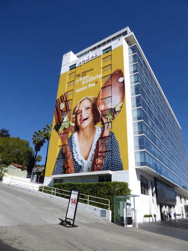Giant At Home with Amy Sedaris series billboard