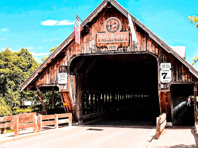 Frankenmuth Wooden Covered Bridge