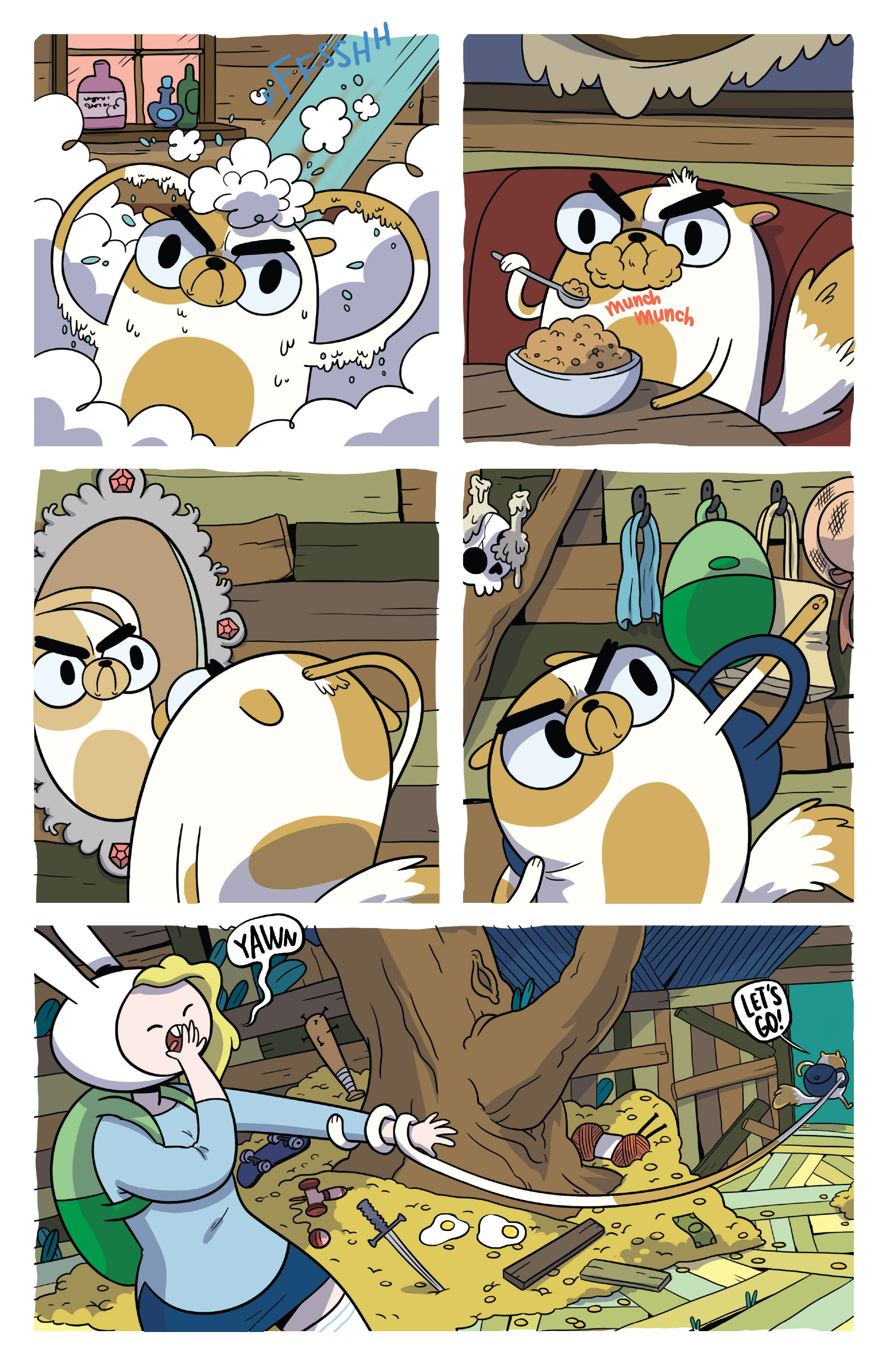 Read online Adventure Time Fionna and Cake Card Wars comic -  Issue #4 - 4