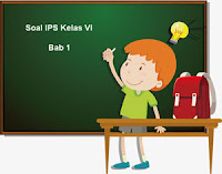 Soal IPS Kelas 6 Bab 1 dan Kunci Jawaban