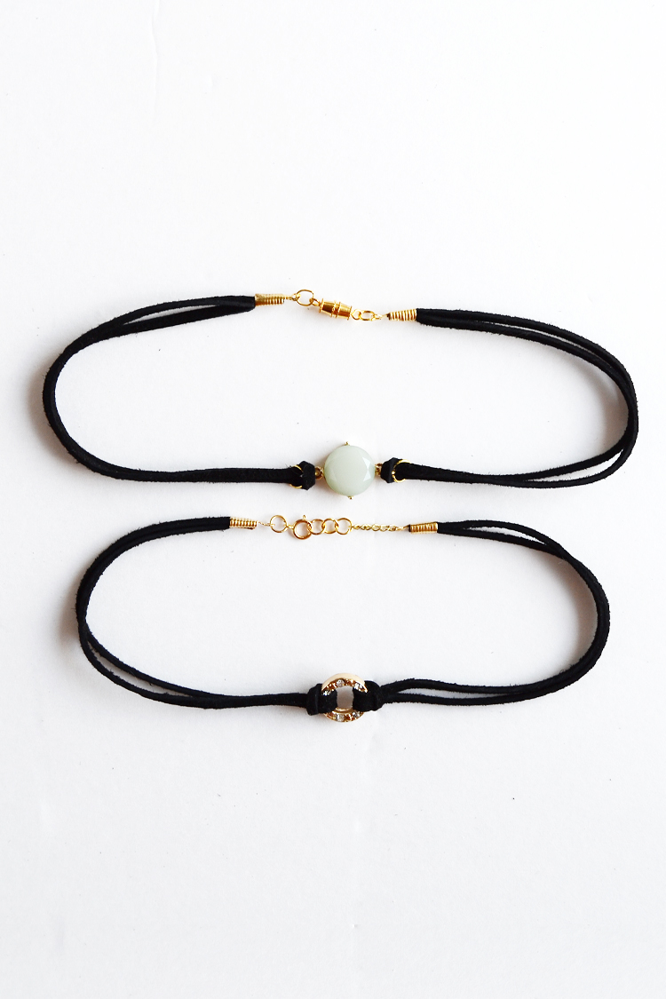 easy and trendy DIY Chokers