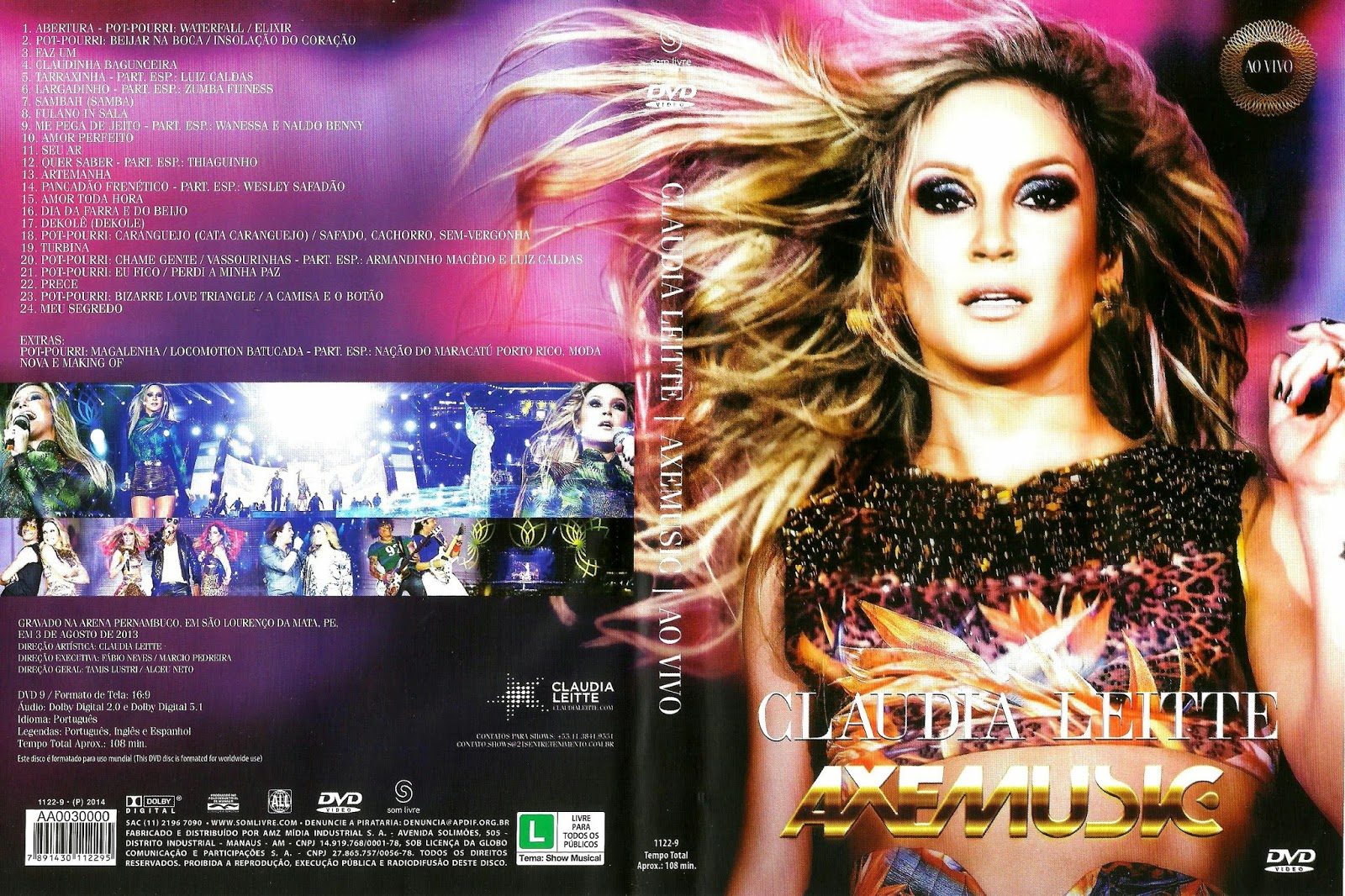 cd claudia leitte axemusic