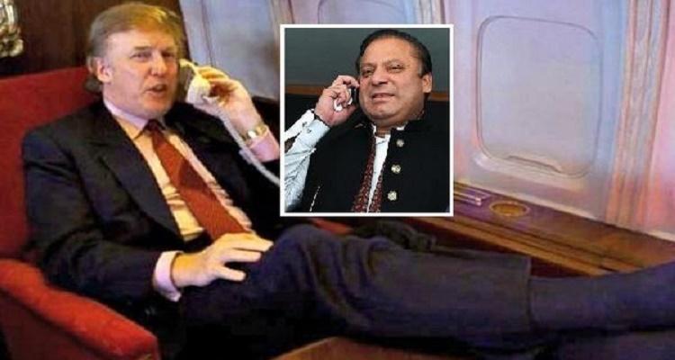 اتصال هاتفي غريب جدا بين ترامب و رئيس الوزراء الباكستاني
