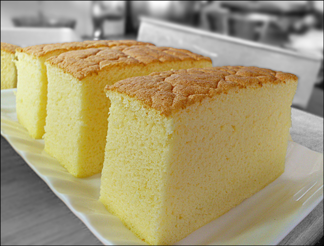 Asian sponge cake recipe