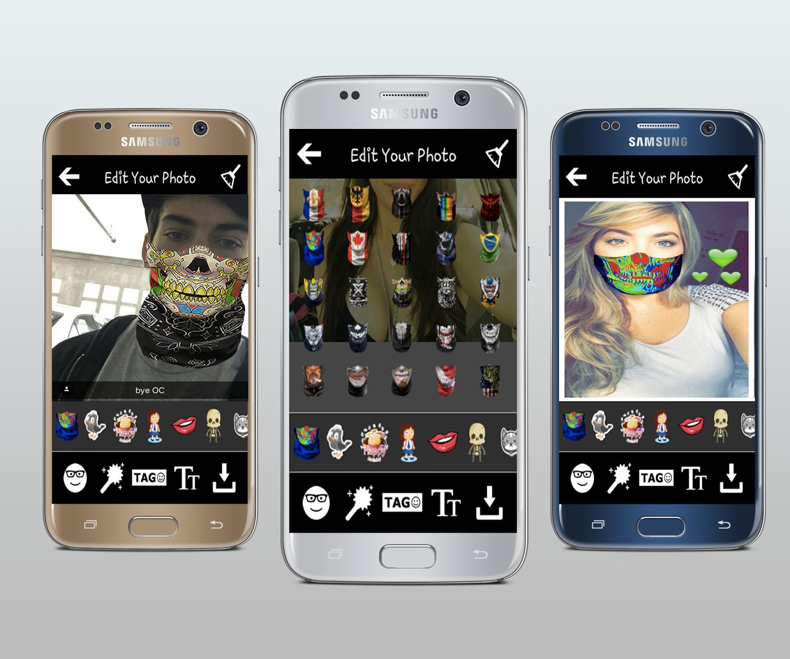 Snap Mask Face Maker Snapchat