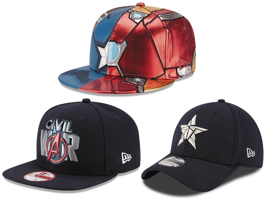 The Blot Says...  Captain America  Civil War Hat Collection by New ... 67c0b4b4ccb9