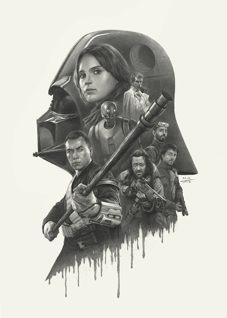 Rogue One - Pencil Art