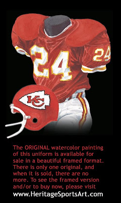 Kansas City Chiefs 1981 uniform