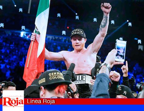 'Canelo' destrona a Golovkin y se convierte en el campeón mundial de peso medio. Su actitud ofensiva convenció a los jueces
