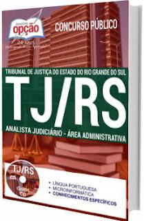 Apostila TJ-RS 2017 Analista Judiciário