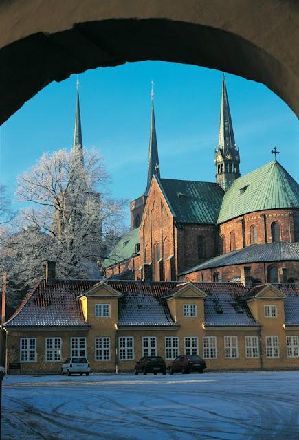 Catedral de Roskilde, Dinamarca - Patrimônio da Humanidade pela UNESCO