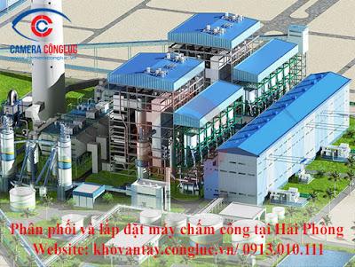 Cung cấp và lắp đặt máy chấm công chất lượng tốt cho doanh nghiệp tại KCN An Dương.