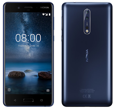 Nokia 8 Tampered Blue