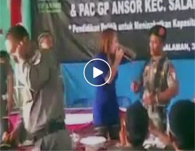 [VIDEO] Rupanya GP Ansor Lebih Suka Dangdutan, dibandingkan Ceramah Ust. Felix